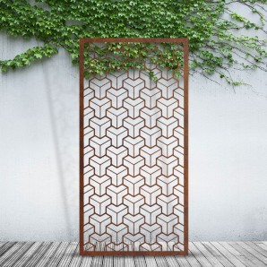 The Metal Privacy Screen 9