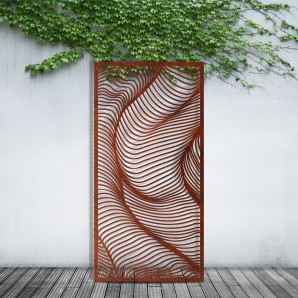 The Ribbed Privacy Screen