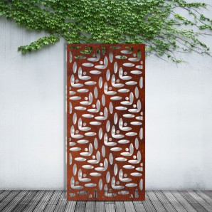 The Flower Privacy Screen